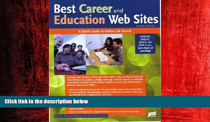 FREE PDF  Best Career and Education Web Sites: A Quick Guide to Online Job Search (Best Career