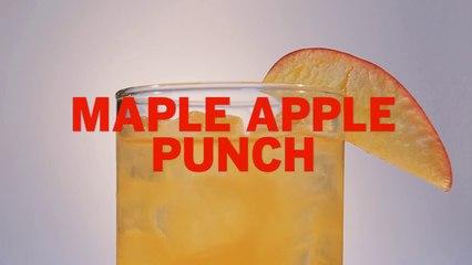 Maple Apple Punch Drink Recipe