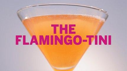 Flamingo-tini Drink Recipe