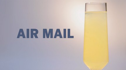 Air Mail Drink Recipe