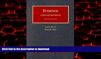 liberty book  Evidence, Cases and Materials: Cases and Materials (University Casebook Series)