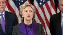 Hillary Clinton says we owe Donald Trump 'an open mind'