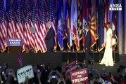 Donald Trump e' il 45/o presidente