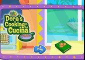 DORA la exploradora big sister parte Dora Cooking