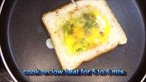healthy breakfast recipes-Omelette Sandwich - Quick & Easy Breakfast recipe