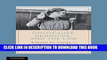 [PDF] Holocaust, Genocide, and the Law: A Quest for Justice in a Post-Holocaust World Full Online