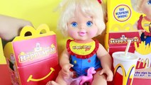 McDonalds Happy Meal Surprise Toys Doll French Fries & McDonalds Food Drink Maker