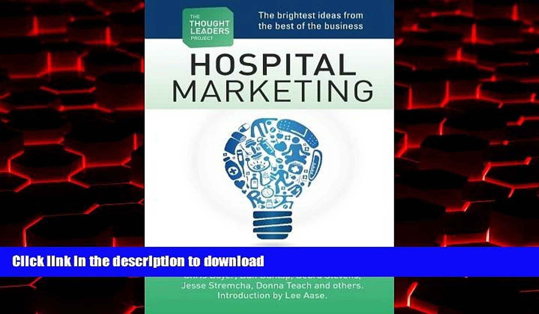 Read books The Thought Leaders Project : Hospital Marketing