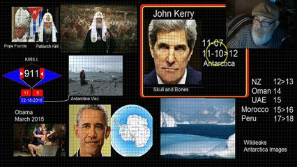 the john kerry antarctica visit and the wikileaks antarctica images