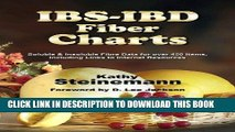 Best Seller IBS-IBD Fiber Charts: Soluble   Insoluble Fibre Data for Over 450 Items, Including
