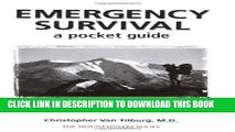 Ebook Emergency Survival: A Pocket Guide: Quick Information for Outdoor Safety Free Read