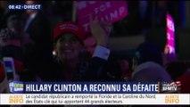 BFMTV - Extrait ÉLECTIONS AMÉRICAINES 2016 - Annonce de l'élection de Donald Trump (2016)