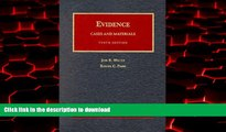 Buy books  Evidence, Cases and Materials: Cases and Materials (University Casebook Series) online
