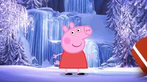 Peppa Pig em Português   Kinder Surpresa Eggs   Peppa Pig Alterar Disney Frozen Serie (Olaf)