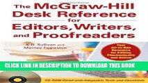 [FREE] EBOOK The McGraw-Hill Desk Reference for Editors, Writers, and Proofreaders (with CD-ROM)