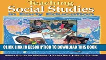 [READ] EBOOK Teaching Social Studies in Early Education (Early Childhood Education) BEST COLLECTION