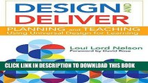 [FREE] EBOOK Design and Deliver: Planning and Teaching Using Universal Design for Learning ONLINE