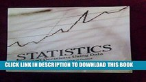Read Now Statistics: Informed Decisions Using Data w/ an Introduction to Mathematics of Finance