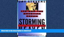EBOOK ONLINE  Storming Heaven: LSD and the American Dream  GET PDF