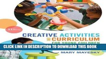 Read Now Creative Activities and Curriculum for Young Children (Creative Activities for Young