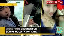 Trende Uyuma Taklidi Yapan Adam Yanındaki Kızı Taciz Ederken Yakalandı