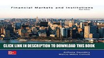 [FREE] EBOOK Financial Markets and Institutions (The Mcgraw-Hill / Irwin Series in Finance,