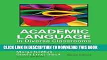[FREE] EBOOK Academic Language in Diverse Classrooms: Definitions and Contexts BEST COLLECTION
