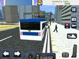 Police Bus Staff Duty Transport 3D - New York City Police Department Pic & Drop Sim iOS Gameplay