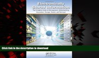 Read books  Electronically Stored Information: The Complete Guide to Management,  Understanding,