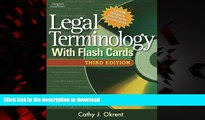 Best books  Legal Terminology with Flashcards (West Legal Studies) online