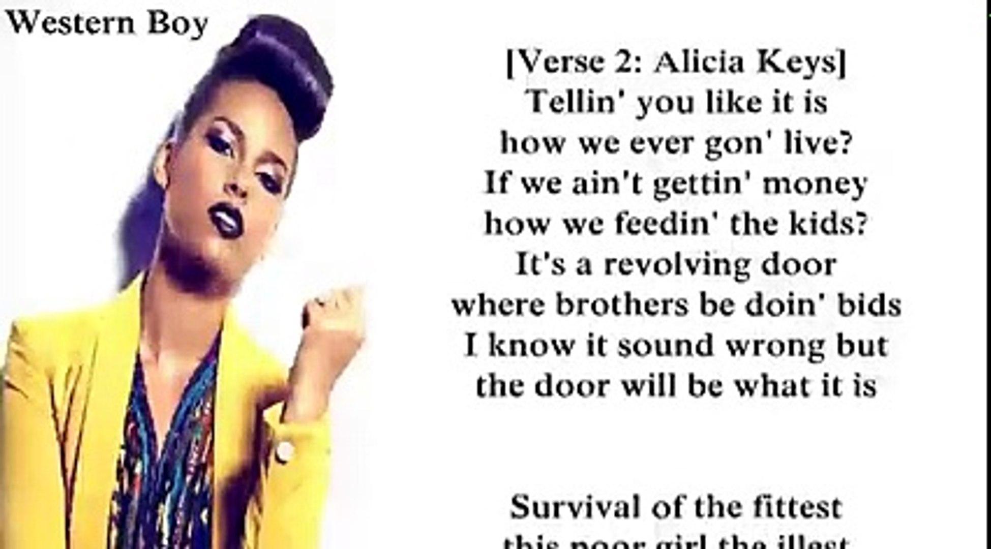 Alicia Keys The Gospel Lyrics Video Dailymotion