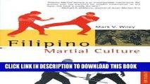 [PDF] Filipino Martial Culture (Martial Culture Series) Popular Online