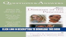 Ebook Questions     Answers About Diseases Of The Pancreas (Questions   Answers About... (Jones