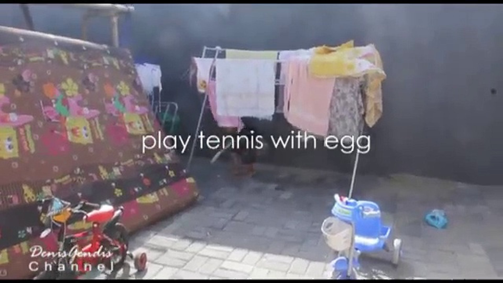 Playing Tennis for kids