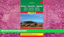 Best Buy Deals  Kenya / Tanzania / Uganda FB 1:2M 2013 (English, French and German Edition)  Best