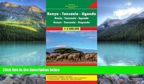Best Buy Deals  Kenya / Tanzania / Uganda FB 1:2M 2013 (English, French and German Edition)  Full