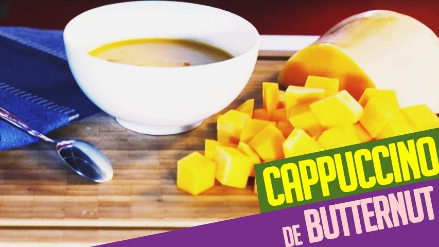 Recette d'automne:  le cappuccino de BUTTERNUT pour toute la famille !