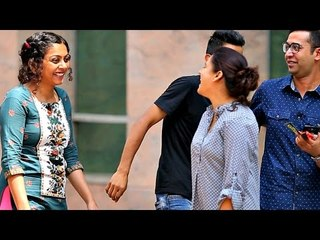 Kissing People's Hand in INDIA | Prank by AVRprankTV