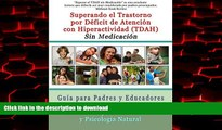 Best books  Superar el Trastorno por Déficit de Atención con Hiperactividad (TDAH) Sin