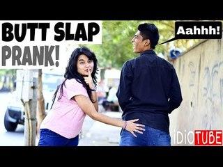 Butt Slap Prank Gone Right - iDiOTUBE