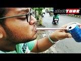 Epic Tongue Prank - iDiOTUBE (Pranks In India)