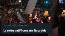 Les manifestations anti-Trump se multiplient aux Etats-Unis