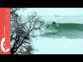 Blake Thornton's chilly winter Surf session