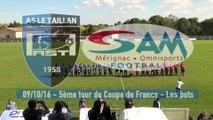 5ème tour de Coupe de France : AST (R4) 0-3 SAM (R1) - Les buts !