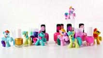 Cambio de Look Super Brillante para Ponys  My Little Pony Inspiracion Rainbow Dash Pinkie Pie