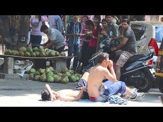Sunbathing on streets, Pushups, Silly Laugh -Public Awkwardness