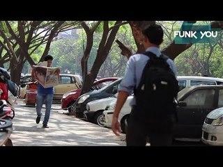 Newspaper Dash Prank in India by Funk You! (Prank in India)