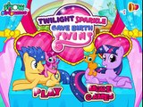 Twilight Sparkle Gave Birth Twins – Best My Little Pony Games For Girls