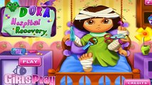 Cartoon game. Dora the Explorer - Dora Hospital Recovery. Full Episodes in English new
