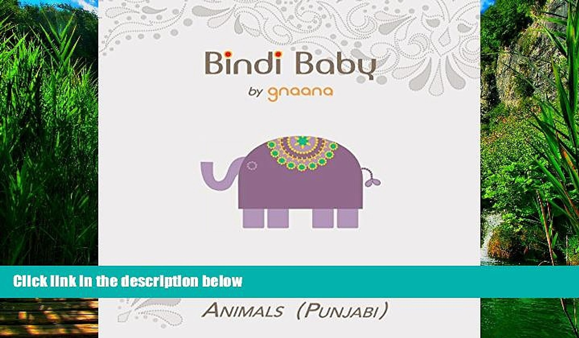 Big Deals  Bindi Baby Animals (Punjabi): A Beginner Language Book for Punjabi Children (Punjabi